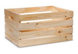 wooden crate supplies